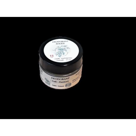 Déodorant Baume Patchouli - Cade Nomade certifié Bio
